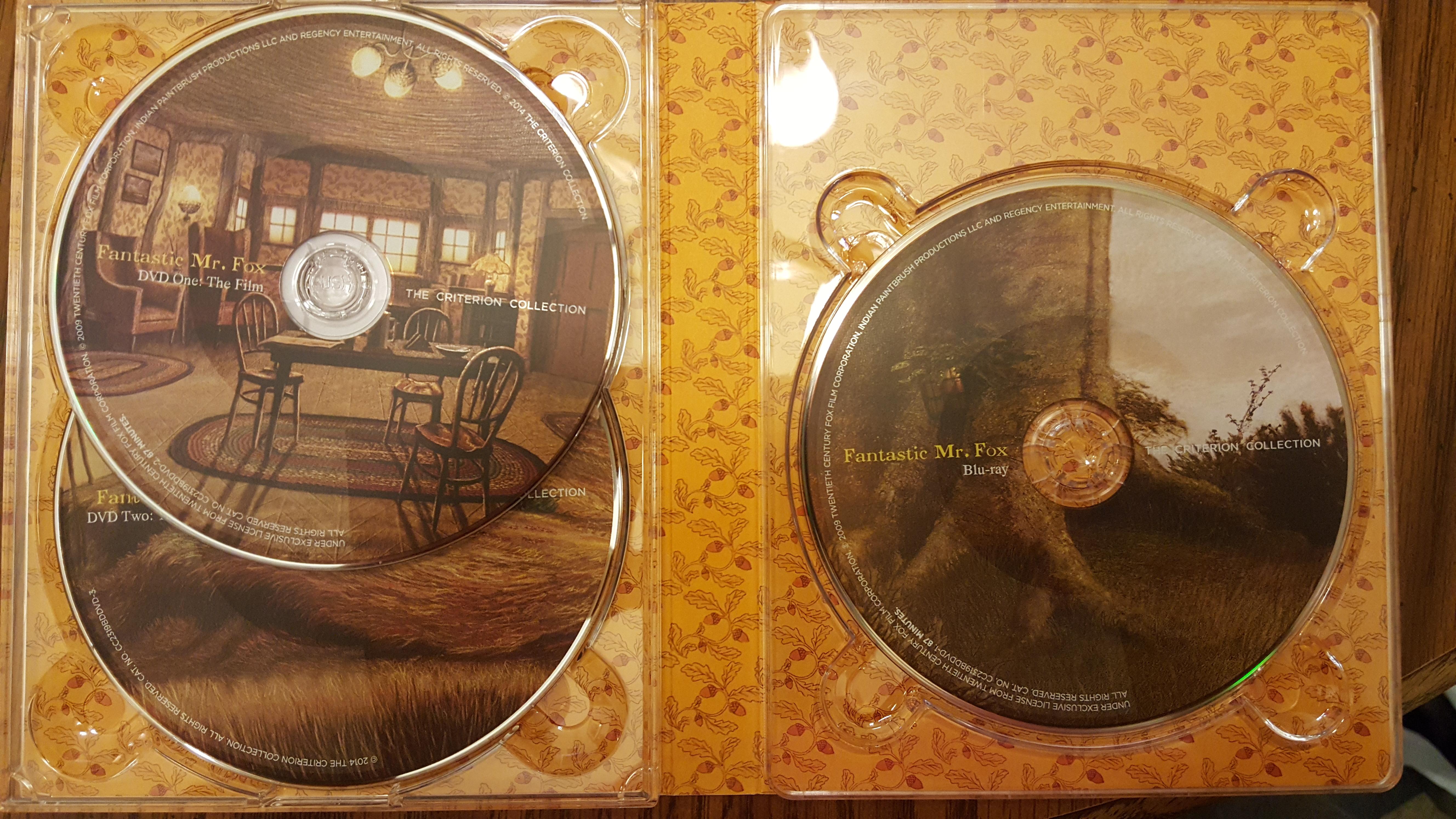 Fantastic Mr. Fox Discs