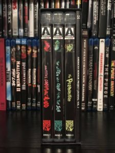 American Horror Project Spines