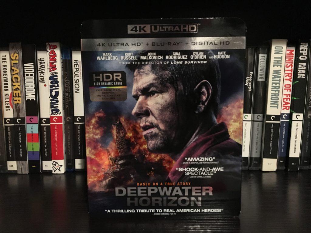 Deepwater Horizon - 4K UHD Review - ReDVDit