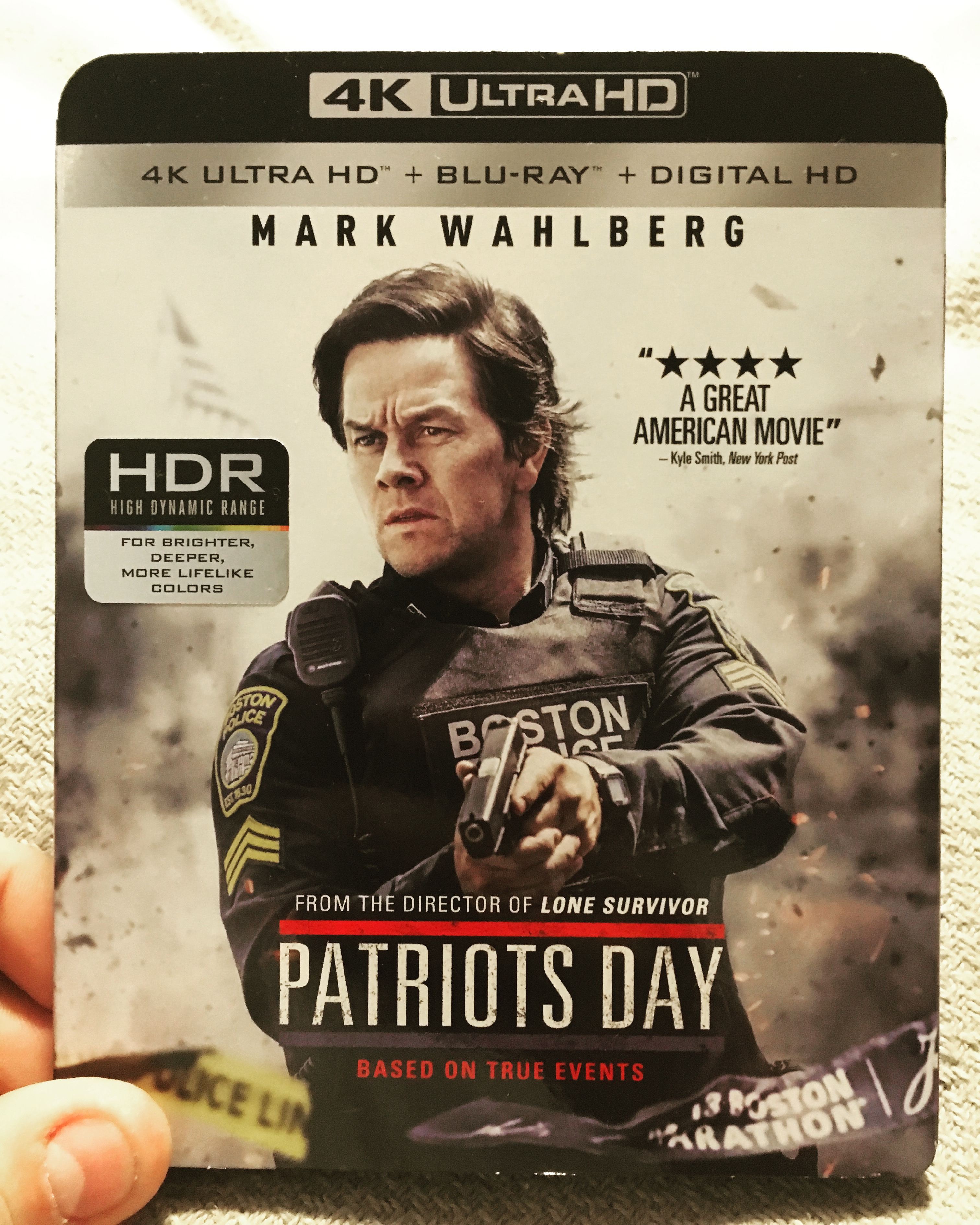 Patriot's Day - 4K UHD Blu-ray Review - ReDVDit