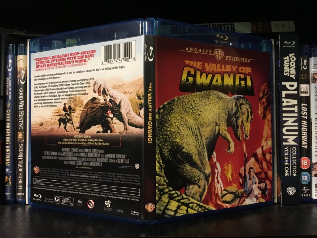 The Valley of Gwangi Blu-ray Packaging 1