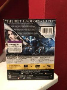 Underworld: Blood Wars Back