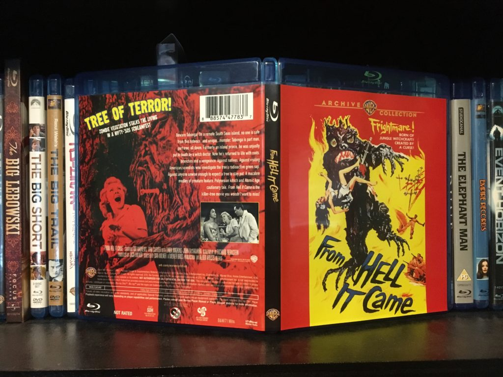 From Hell It Came Blu Ray Packaging 1