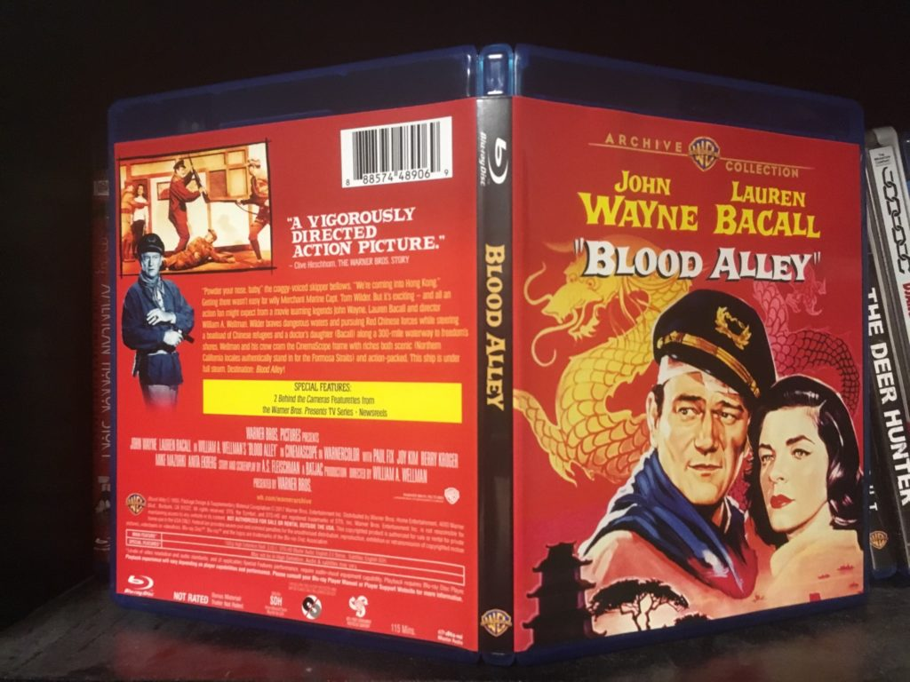 Blood Alley Blu Ray Packaging 1